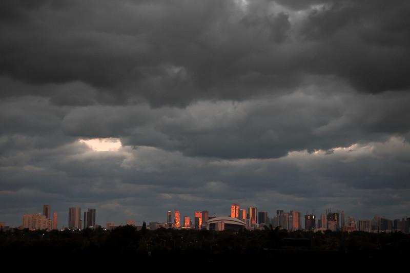 February 20 - Sunset over Miami.jpg