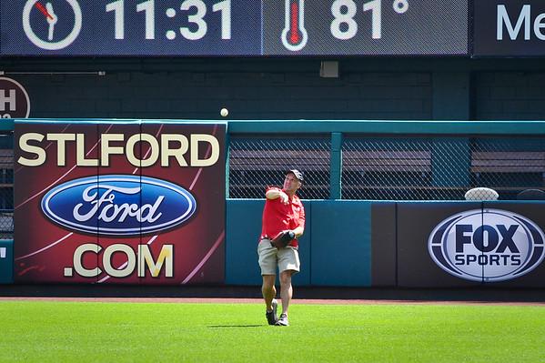 Busch Stadium Batting Practice 8/18/17