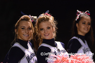 10-18-2013 Magruder HS Poms,    Photos by Jeffrey Vogt Photography