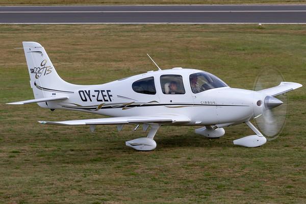 OY-ZEF - Cirrus SR22 GTS