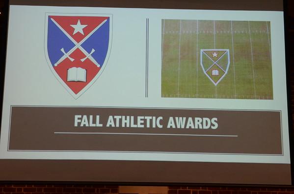Fall Athletic Awards
