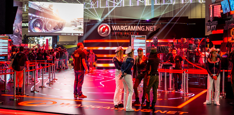 Wargaming at Gamescom 2015