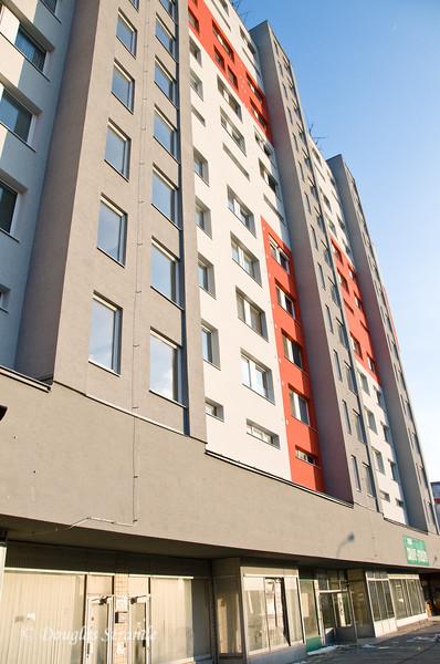 Magda's building exterior