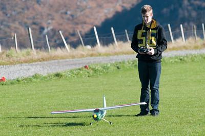 Oktober 2013: Oskar fliegt in Tjessem