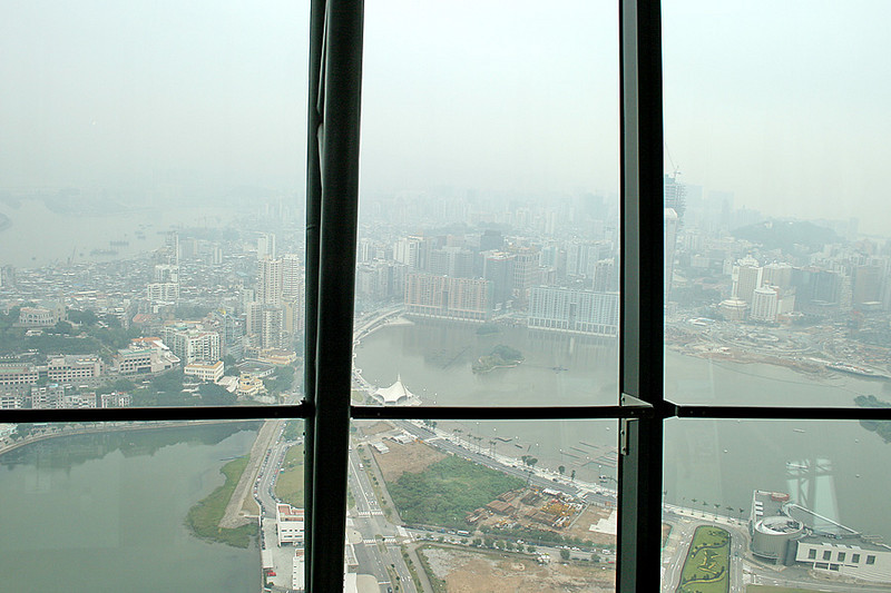 Macau City seen from Macau Tower