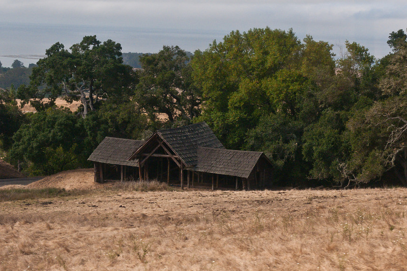 On the way up to Hearst Castle we passed by one of the old cabins. I forget what this was used for.
