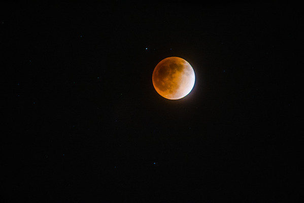 Blood Moon Eclipse  Tax Day 2014