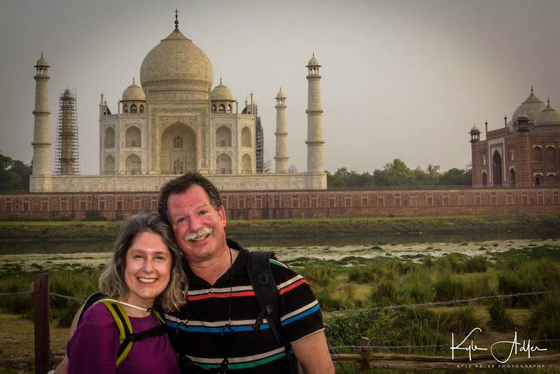 The moonlight garden provides a less crowded and even more lovely alternative view of the Taj Mahal at sunset.