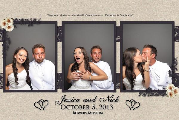 Jessica and Nick's wedding