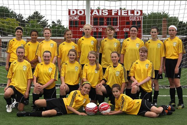2011 U13 Strikers Team photo