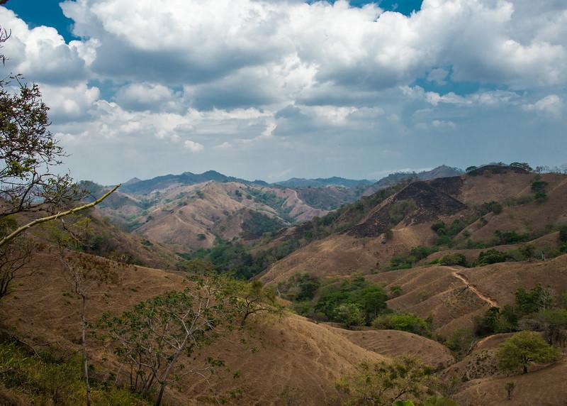 Hills outside Pedasi