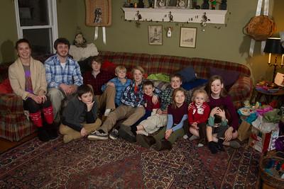 Long Family Christmas 2013