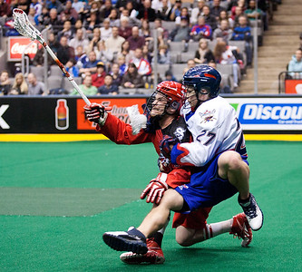 Calgary Roughnecks @ Toronto Rock 08 Jan 2012