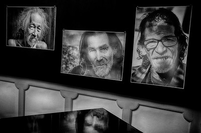 HOMELESS PLACES AND FACES ART SHOW