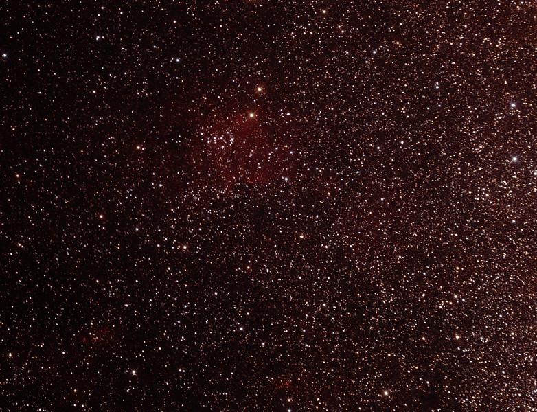 Gum 70 Nebula in Sagittarius - 28/6/2014 (Processed cropped stack)