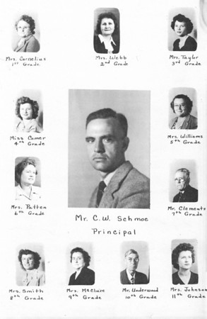 Ray City School 1948-49