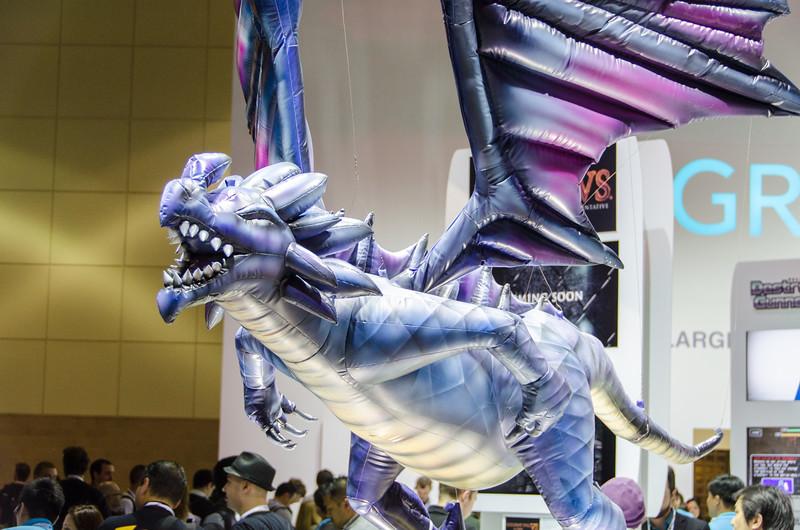 Dragon at E3 2012