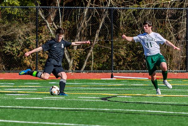 First half into Second half, Set four: Boys Varsity Soccer v Overlake 03/09/2019