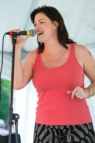 Lisa Wenger--Lisa Wenger and the Mean Mean Men- Madelia Blues Fest 2014