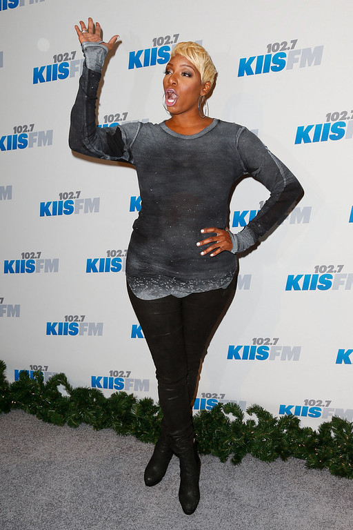 . TV personality/actress NeNe Leakes attends KIIS FM\'s 2012 Jingle Ball at Nokia Theatre L.A. Live on December 3, 2012 in Los Angeles, California.  (Photo by Imeh Akpanudosen/Getty Images)