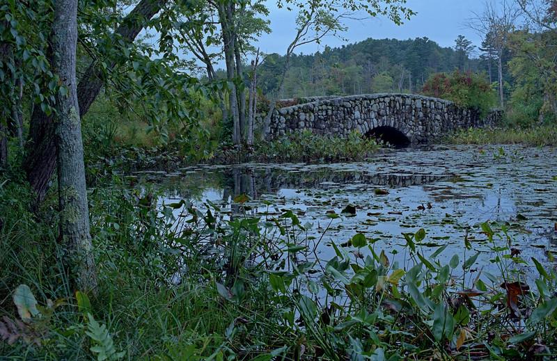 The Stone Bridge-- Mass Audubon Ipswich River Wildlife Sanctuary