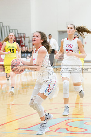 USJ v Lausanne girls bb 2-11-19