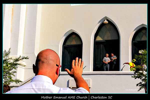 MOTHER EMANUEL AME SUNDAY CHURCH SERVICE