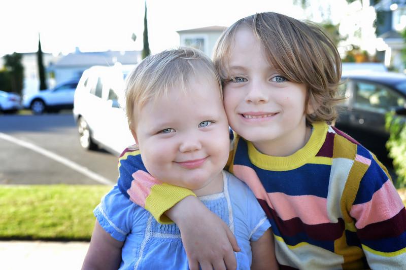 Best Friends, Ollie and Darla.  Frank Mckenna, Frankiefoto, San Diego