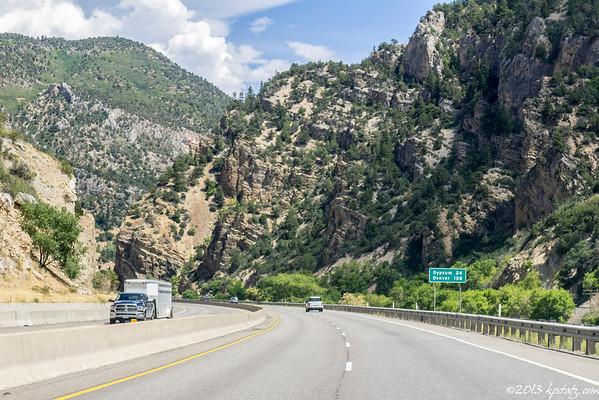 AUG 20 - Moab, UT > Denver, CO
