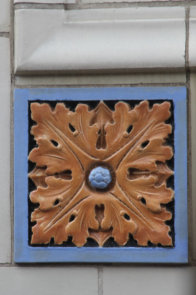 bas relief on a building in downtown Asheville (I don't remember which building)