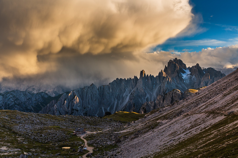 This photo was shot during the Dolomites East September 2013 photo workshop. See workshops here http://www.hanskrusephotography.com/Hans-Kruse-Photo-Workshops