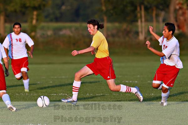 Boys Varsity Soccer v Lakeland