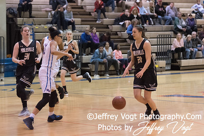 1/16/2018 Watkins Mill HS vs Poolesvilles HS Girls Varsity Basketball, Photos by Jeffrey Vogt Photography