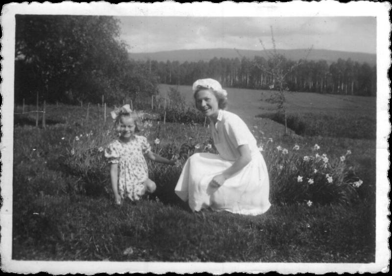 Marja Puusti och Märta Olsson