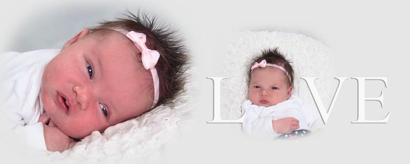 Vivienne Grace Newborn Photos