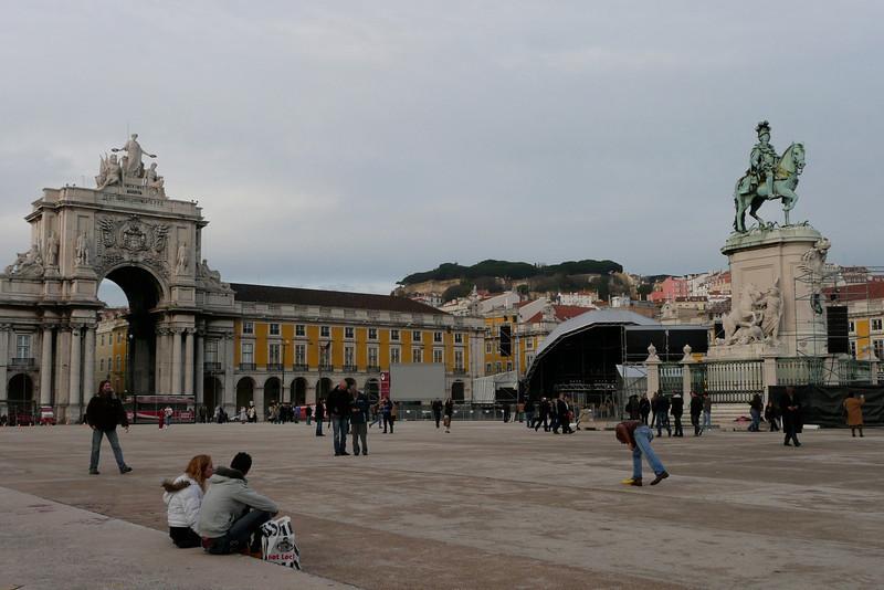 Praça do Comércio. Baixa, Lisbon