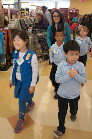 Kindergarten Trip to Ralphs