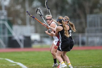 CN Women's Varsity LAX 2013 vs Novato