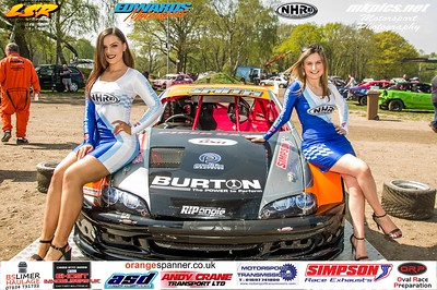 National Hot Rod Grid Girls at Ipswich