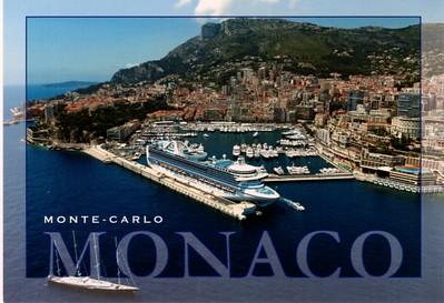 Monaco With Ships