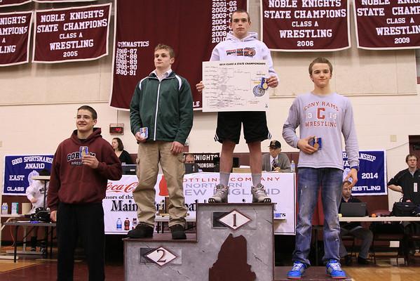 Congratulations Robie Martin State Champion - Wrestling 2014 - Match III Win - Gallery III
