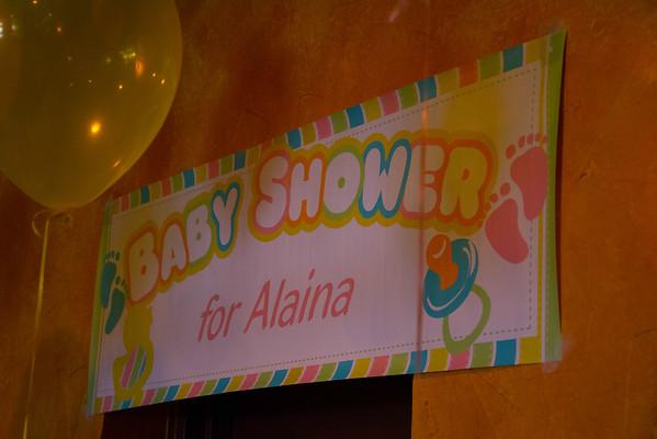 Alaina's Baby Shower