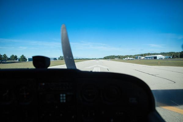 Mackinac Island Northern Michigan Aerial Photography