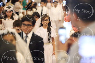 St Mary Magdalen Catholic School First Communion 2018