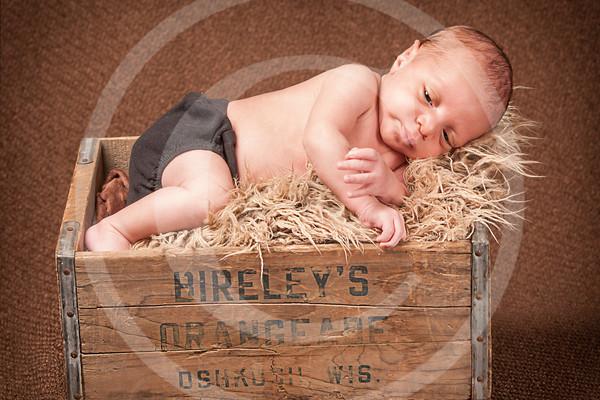 TJ four weeks old
