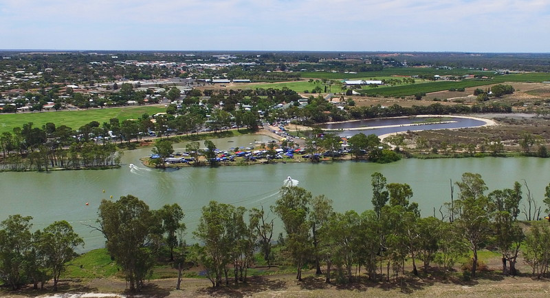 Power boats Aust v USA (Day 2)