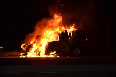 Uniondale Car Fire 8/19/12