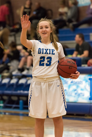 2018-02-13 Dixie Girls Basketball - Freshman & Sophomore Games