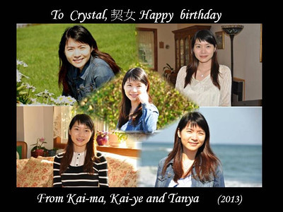Crystal birthday special 2013