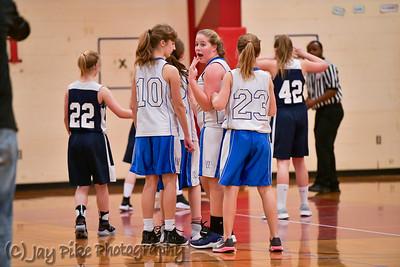 January 20, 2018 - 7th Grade Girls Team B - Game